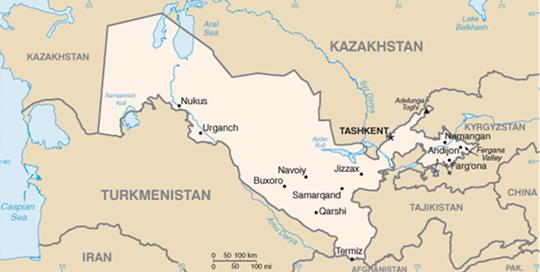 Muslimiradikalismi Keski Aasiassa 1990 Luvulla